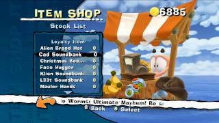 Worms: ultimate mayhem customisation video game trailer - PC