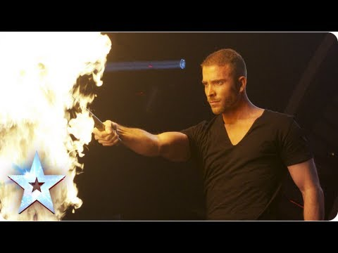 James Mores firey magic act  Semi-Final 4  Britains Got Talent 2013