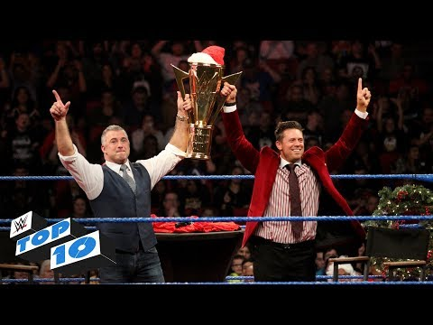 Top 10 SmackDown Live moments: WWE Top 10, December 25, 2018