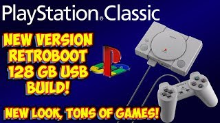 PlayStation Classic RetroBoot 128gb Build! All The Classic Edition Consoles In One!