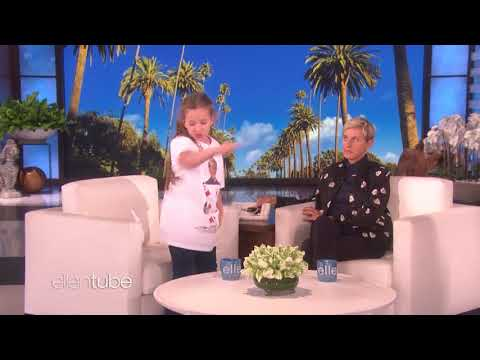 Kid Magician Issy Simpson Shows Off Her Tricks