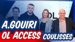 VIDEO: INVITE OL ACCESS : Amine Gouiri, les coulisses | OL By Emma