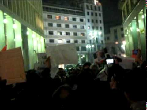 Milano 23.02.2010 Manifestazione Davanti Al Consolato Libico