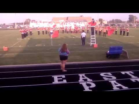 East Newton high School Marching band part 1