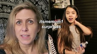 MY MOM VLOGS: SURPRISING ME!