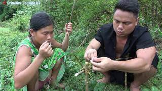 Survival Skills - Simple DIY Creative Duck Trap Technology make from wood That Work 100%