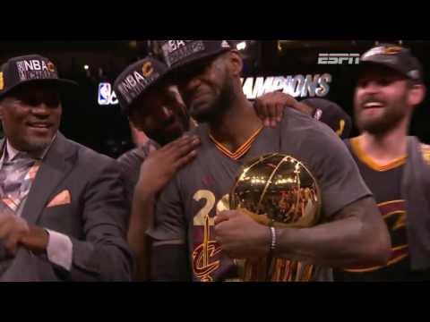 Cavaliers win NBA championship 2016 | Trophy Ceremony