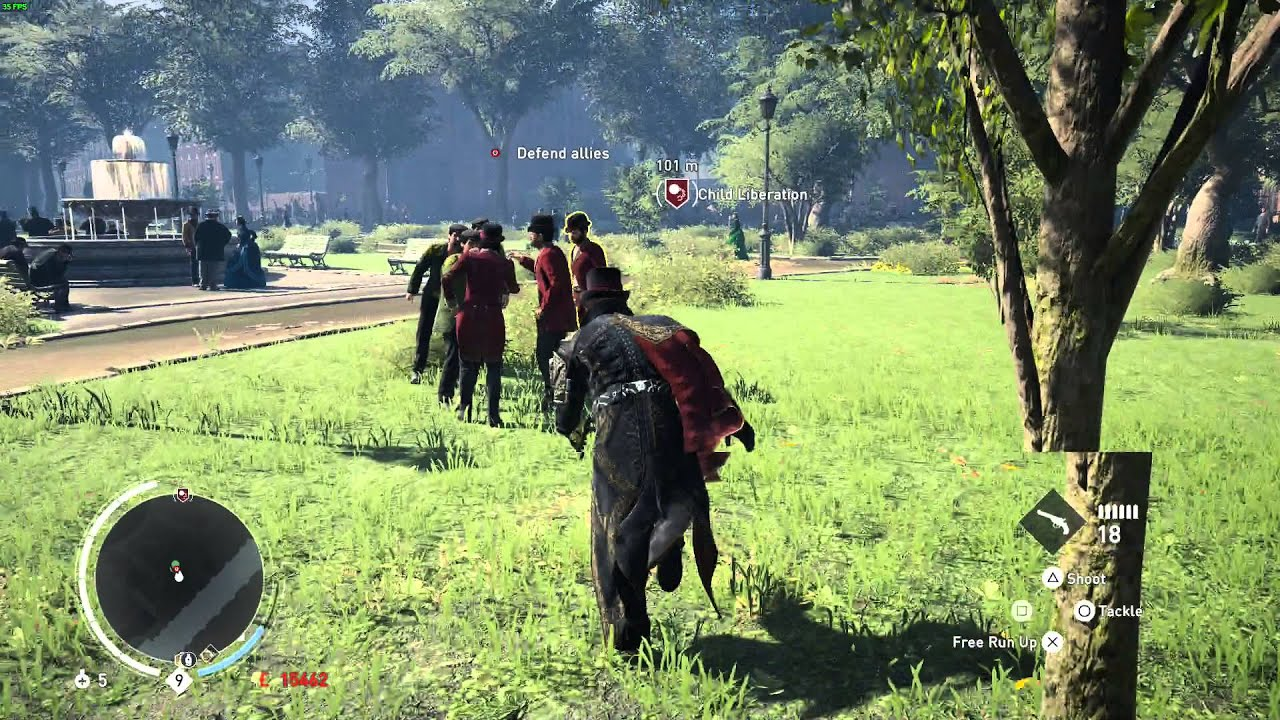 Assassin S Creed Syndicate Pc Gameplay Max Settings Youtube