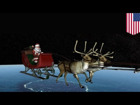 U.S. Military tracks Santa during Christmas despite shutdown - TomoNews