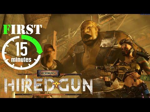 Necromunda Hired Gun intro  