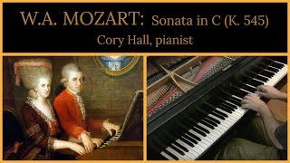 Mozart: Sonata in C major, K. 545 (complete) | Cory Hall, pianist-composer thumbnail