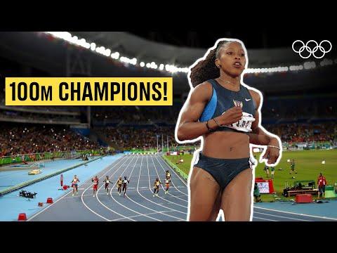 Women's 100m Athletics