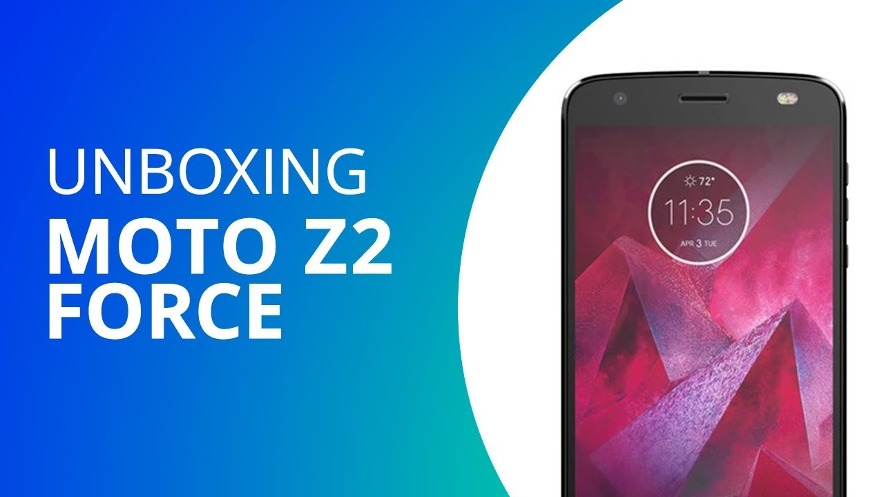 ad2a81ee28 Moto Z2 Force  Unboxing  - YouTube