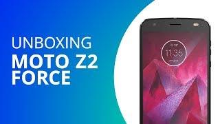 Moto Z2 Force [Unboxing]