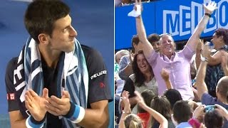 Novak Djokovic match interrupted by marriage proposal