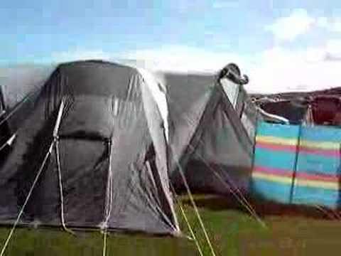 Sunnc& Marathon 16 Man Tent & Sunncamp Marathon 16 Man Tent - YouTube