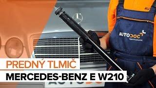 Ako vymeniť predný tlmič na MERCEDES-BENZ E W210 [NÁVOD]