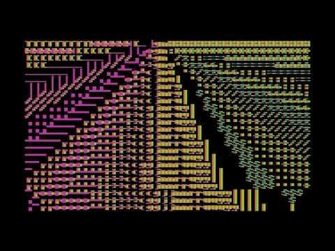 """""""Parasolka"""" 256b intro Atari XL/XE LOST party 2020"""
