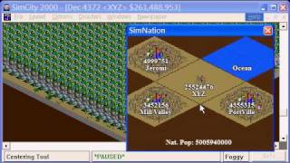 SIM CITY 2000 : 25,52X,XXX POPULATION