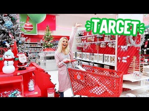 CHRISTMAS SHOPPING AT TARGET!!   Vlogmas Day 2