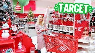 CHRISTMAS SHOPPING AT TARGET!! | Vlogmas Day 2