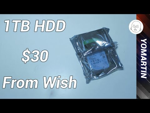 Bought 1TB HDD for $30 from Wish! Does it work?