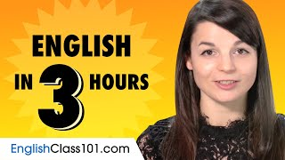 Download lagu Learn English in 3 Hours: Basics of English Speaking for Beginners