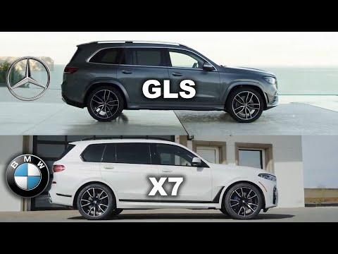 Mercedes GLS Vs BMW X7, X7 Vs GLS, BMW Vs Mercedes