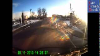Car crash compilation #22 2013   newest December 2013 car accident scenes   YouTube