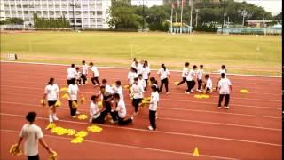 明愛粉嶺陳震夏中學2014~2015年度 陸運會—四社啦啦隊