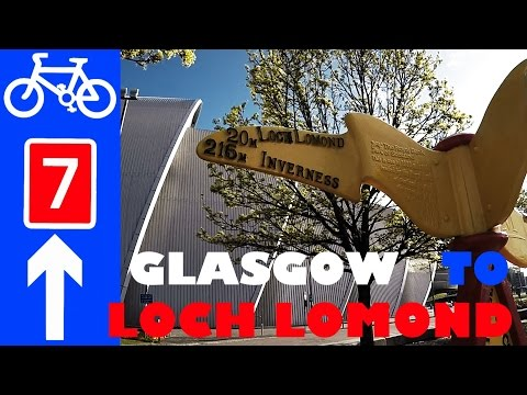 National Cycle Network Route 7 Glasgow Loch Lomond Dumbarton Balloch Cycle Path Guide