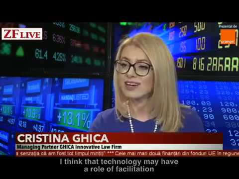 Cristina Ghica, Managing Partner GHICA Innovative Law Firm talked at ZFLive, 3rd of March 2017