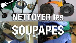 3 Méthodes pour Nettoyer les Soupapes d'échappement ✅