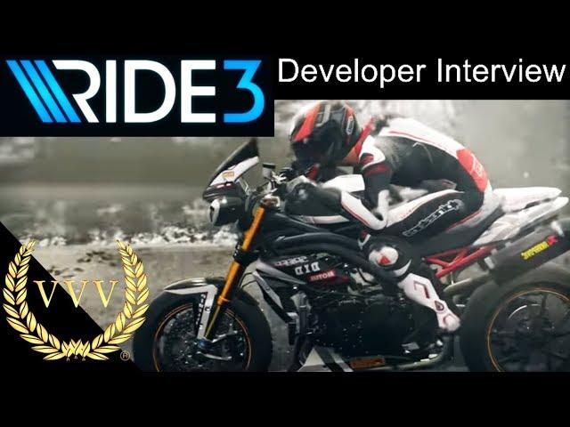 Ride 3 Announcement, Developer Interview