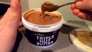 Bulk Powders - Triple Nut Butter Unboxing