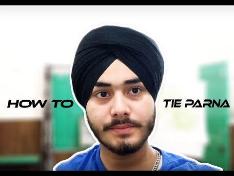 How To Tie PARNA  Easily Tips In (5 Mint)