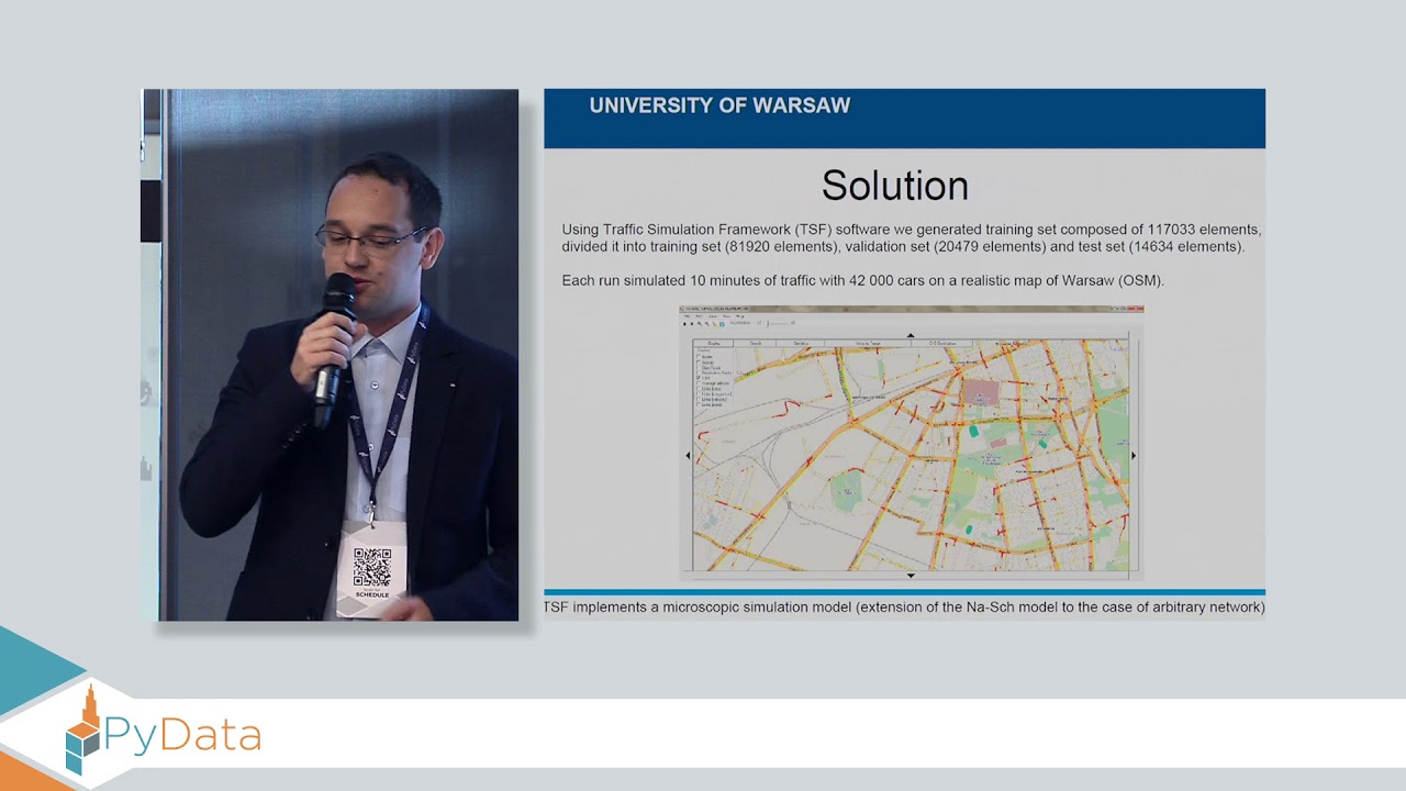 Image from TensorTraffic - traffic prediction using machine learning - Pawel Gora