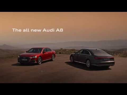 Audi A8 Trailer 2017