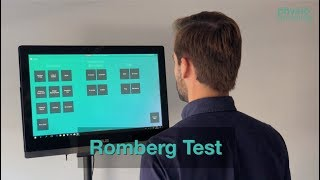 Romberg Test - RT protocol | PhysioSensing
