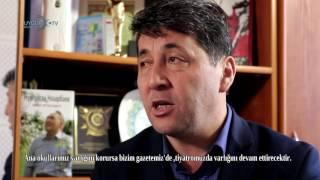 UTV ekibi olarak Uygur avazi gazetesini ziyaret ettik