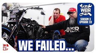 We Aren'T Able To Finish The Bobber... [Wrecked Bike Rebuild - Ep 23 - Vstar 1300 Bobber]