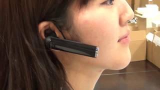 looxcie lx2 wearable video cam bluetooth headset demonstration