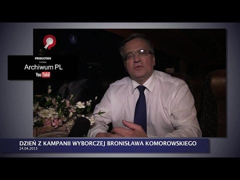 Historia prawdziwa ( TVN tego nie pokaże )- dzień z kampanii wyborczej Bronisława Komorowskiego