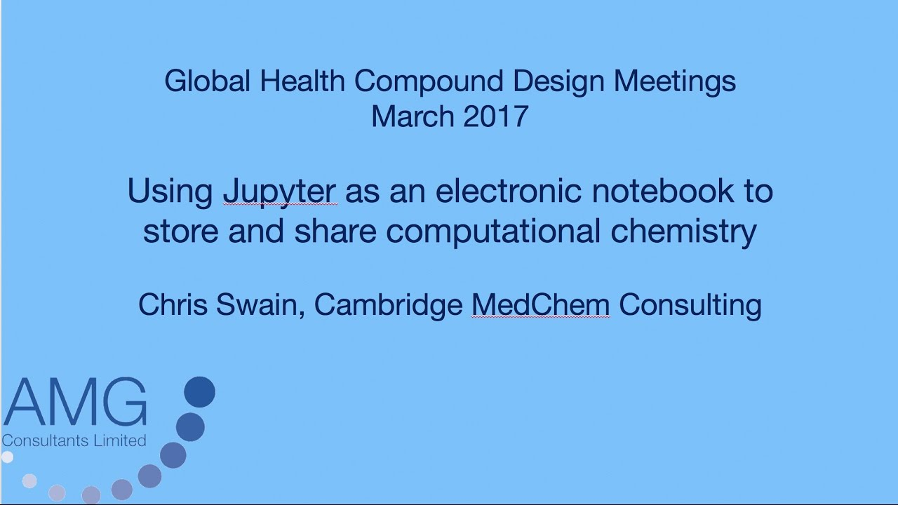 Using Jupyter as an electronic notebook to store and share computational  chemistry