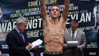LEEDS SUPPORT BEHIND HIM! - JACK BATESON v KAMIL JAWOREK - OFFICIAL WEIGH IN / EDGE OF GLORY