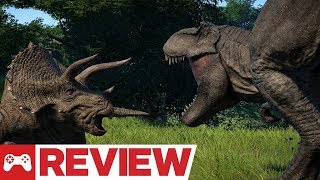 Jurassic World Evolution Video Review (Video Game Video Review)