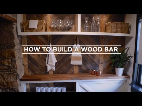 How To Build A Wood Bar