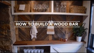 Carpenter Jeff Devlin shows you how to bring wood elements into your home. Roll up your sleeves for this DIY project that will