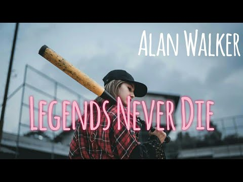 Alan Walker - Legends Never Die lirik - Albert vishi - (Untuk Terjemahan Aktifkan Sub Indo)