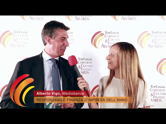 Alberto Vigo, Mediobanca - TopLegal Corporate Counsel & Finance Awards 2019